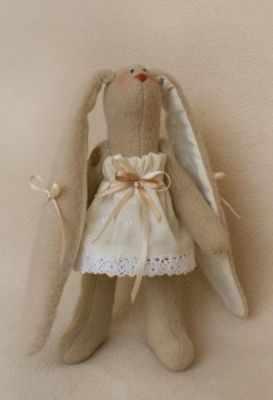 R007 Rabbits story набор для изготовления игрушки