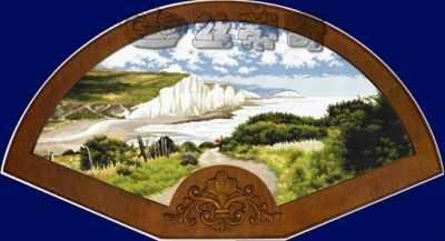 120310  Coast road  (DOME) - Наборы для вышивания крестом «DOME»