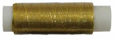 Нити для рукоделия - Нитки металлизированные MY-02 100м золото