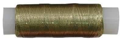 Нити для рукоделия - Нитки металлизированные MY-02 100м св.золото