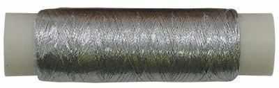 Нити для рукоделия - Нитки металлизированные MY-02 100м серебро