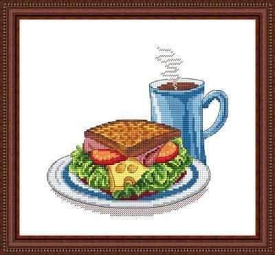 Набор для вышивания Сделано с любовью ВИ-005 (Отличный завтрак)