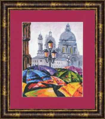 цена на Набор для вышивания Золотое Руно ГМ-019 Городская радуга. Городские мотивы