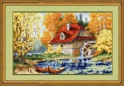 Набор для вышивания Золотое Руно ЛП-025 Старая мельница. Лирический пейзаж набор для вышивания золотое руно лп 033 лесной страж лирический пейзаж