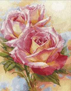 цена на Набор для вышивания Алиса 2-31 Розовые мечты