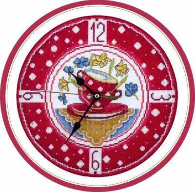 """Купить со скидкой Ч-1581 """"Часы для уютной кухни"""""""