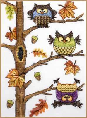 Набор для вышивания Neocraft РЗ-06 Осенний совопад набор для вышивания neocraft рз 16 садовница