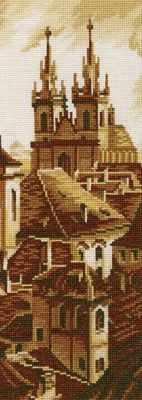 Набор для вышивания РТО M418 Силуэты старой Праги вениг а сказания старой праги