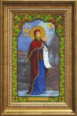 Б-1225  Икона БМ Боголюбивая   чм - Наборы для вышивания икон «Чарiвна Мить»