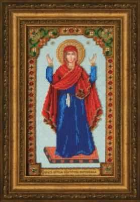 Б-1228  Икона БМ Нерушимая стена   чм - Наборы для вышивания икон «Чарiвна Мить»