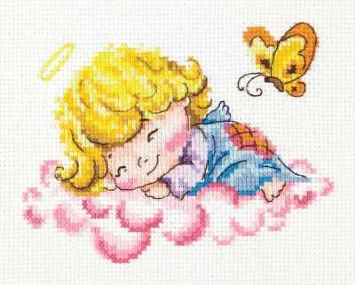 Фото - Набор для вышивания Чудесная игла 35-10 Милый ангелочек чудесная планета земля