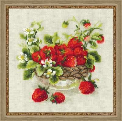 Набор для вышивания Риолис (Сотвори Сама) 1449 Садовая клубника садовая техника