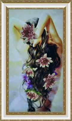 Набор для вышивания Картины бисером Р-070  Нежность - набор для вышивания набор для вышивания бисером созвездие япония 20 х 27 см