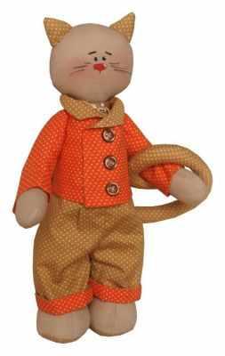 Набор для изготовления игрушки Ваниль C002 Cats story набор для изготовления игрушки