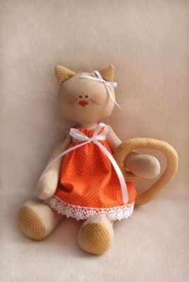 Набор для изготовления игрушки Ваниль C001 Cats story набор для изготовления игрушки