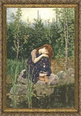 Набор для вышивания Золотое Руно МК-020 Аленушка. Музейная коллекция