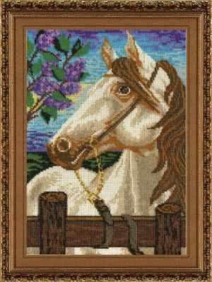 АС-112 «Белый конь» (Анюша) - Наборы для вышивания бисером ТМ «Анюша»
