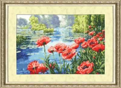 Набор для вышивания Золотое Руно ЛП-021 Краски лета. Лирический пейзаж набор для вышивания золотое руно лп 033 лесной страж лирический пейзаж