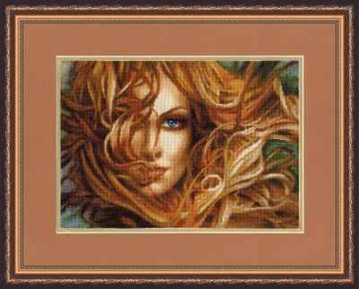 Набор для вышивания Золотое Руно Ф-025 Девушка. Фэнтези
