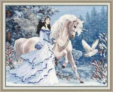 Набор для вышивания Золотое Руно Ф-028 Волшебный лес. Фэнтези