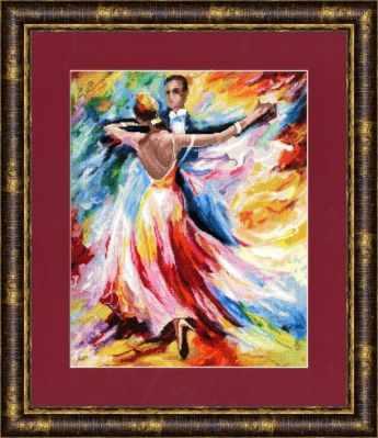 Набор для вышивания Золотое Руно ЧМ-021 Танец любви. Чудесное мгновение набор для вышивания золотое руно чм 033 масленица чудесное мгновение
