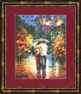 Набор для вышивания Золотое Руно ЧМ-022 Романтическая прогулка. Чудесное мгновение набор для вышивания золотое руно чм 033 масленица чудесное мгновение