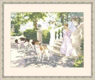 Набор для вышивания Золотое Руно ЛП-028 Солнечный день. Лирический пейзаж набор для вышивания золотое руно лп 033 лесной страж лирический пейзаж