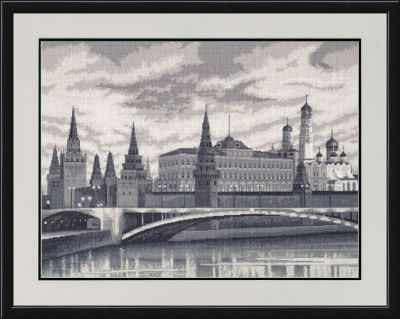 Набор для вышивания Золотое Руно ВС-007 Москва. Вокруг света