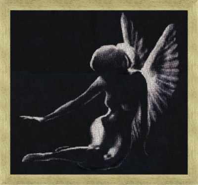 Купить со скидкой С-003 Тень ангела. Силуэты