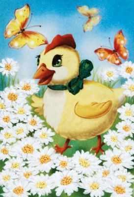 д-06 Цыпленок (Магия шелка) - Наборы для вышивания «Магия шелка»