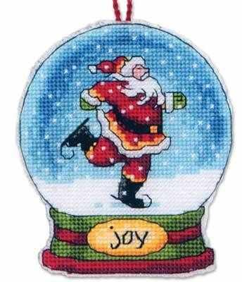Набор для вышивания Dimensions 8905-DMS Joy Snow Globe (украшение)