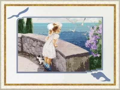 Набор для вышивания Золотое Руно ЧМ-031 Запах моря. Чудесное мгновение набор для вышивания золотое руно чм 033 масленица чудесное мгновение