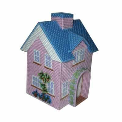 Д003 Розовый домик(3D)