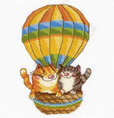 Набор для вышивания Сделай своими руками Н-13 На воздушном шаре