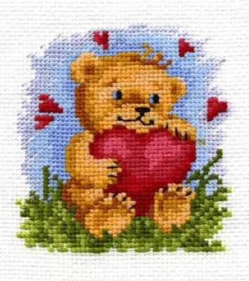 Набор для вышивания Сделай своими руками О-07 От всего сердца