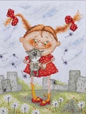 Фото - Набор для вышивания Марья искусница 15.001.11 Нашлись набор для вышивания марья искусница 11 002 25 зима