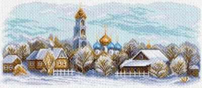 Основа для вышивания с нанесённым рисунком Матрёнин Посад 1626 Сергиев Посад - рисунок на канве (МП)