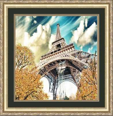 Купить со скидкой НИК 9712 Эйфелева башня - схема для вышивания