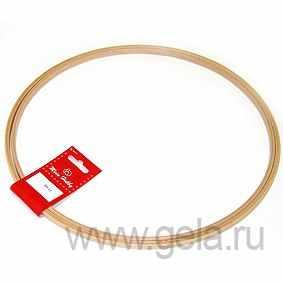 Пяльцы KLASS&GESSMANN 201-11 Пяльцы круглые без замка, высота обода 8 мм, диаметр 30,5см, бук