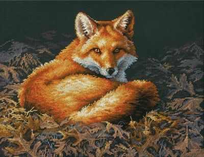 Набор для вышивания Dimensions 35318-70-DMS Sunlit Fox