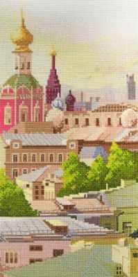 09.007.07 Замоскворечье (МИ) - Наборы для вышивания «Марья Искусница»