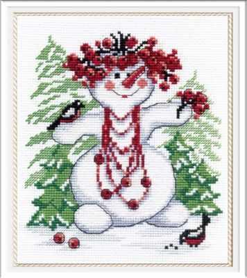 Набор для вышивания МП Студия НВ-257 Снежная баба набор для вышивания мп студия м 354 снежная история