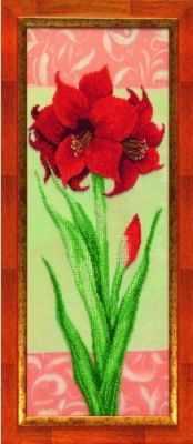 Набор для вышивания Чарiвна Мить Б-713 Гиппеаструм красный