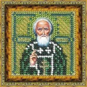 119-ПМИ Св. Прп.Сергий Радонежский (ВМ) - Наборы для вышивания икон «Вышивальная мозаика»