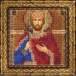225-ПМИ Икона Св. Равноап.царь Константин (ВМ) - Наборы для вышивания икон «Вышивальная мозаика»