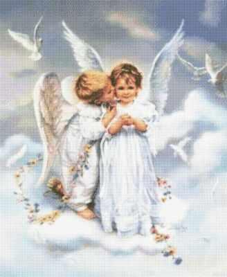 71064,63 Ангелочки  мозаика Anya - Мозаика «Anya»
