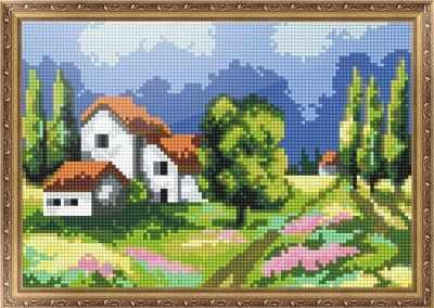Мозаичная картина Anya Алмазная вышивка 401403 Летний день - мозаика Anya