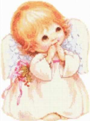 Купить со скидкой 902202 Ангелочек - мозаика Anya