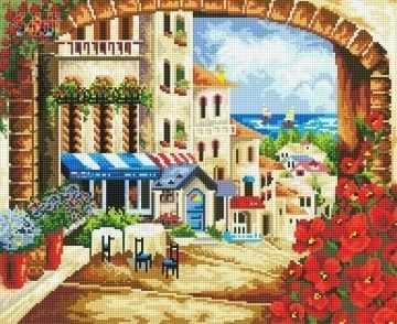 71032,11 Городской пейзаж - мозаика Anya