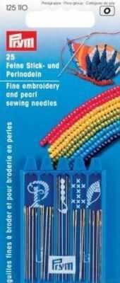 Игла Prym 125110 Иглы для вышивания и бисероплетения PRYM игла prym 125543 иглы вышивальные тонкие 5 10 prym